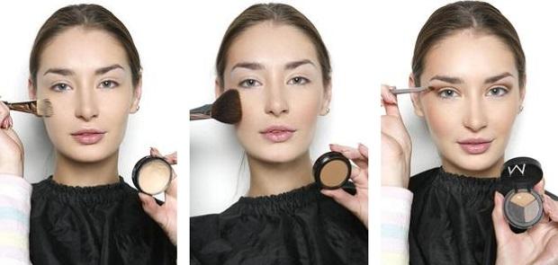 гламурный макияж-1
