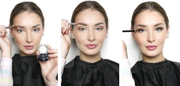 гламурный макияж-2