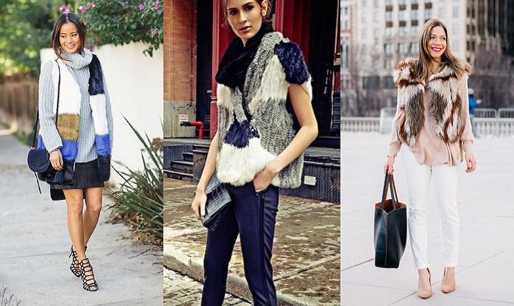 меховые жилеты 2016 года модные тенденции