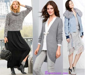 gray-outfits-and-sweaters-with-texture